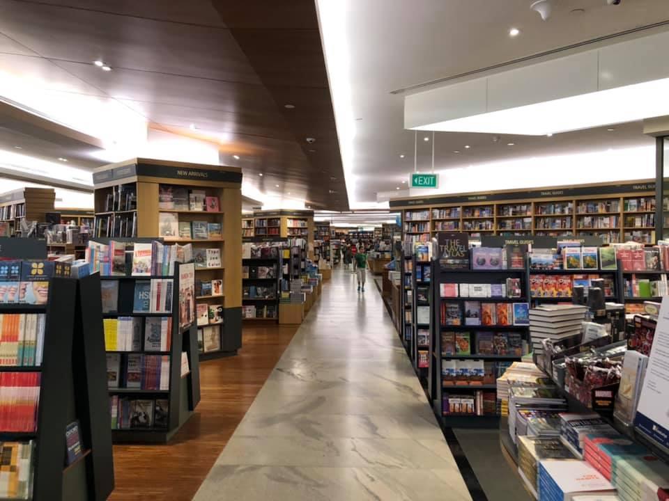 kinokuniya - online bookstores singapore