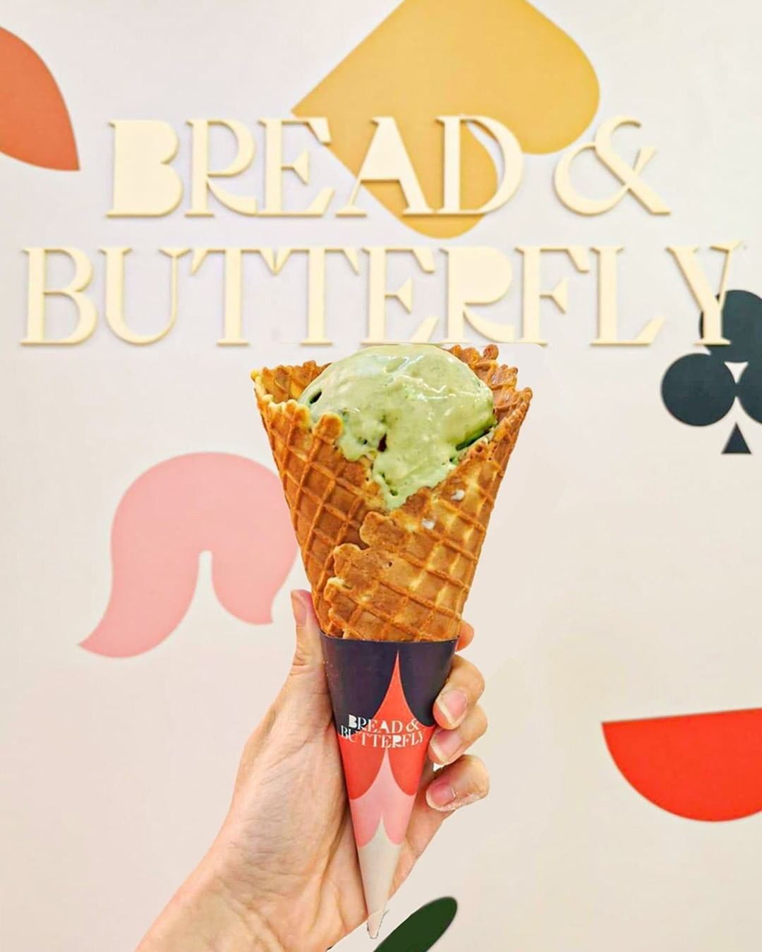 1-for-1 food deal Ice cream from Bread and Butterfly