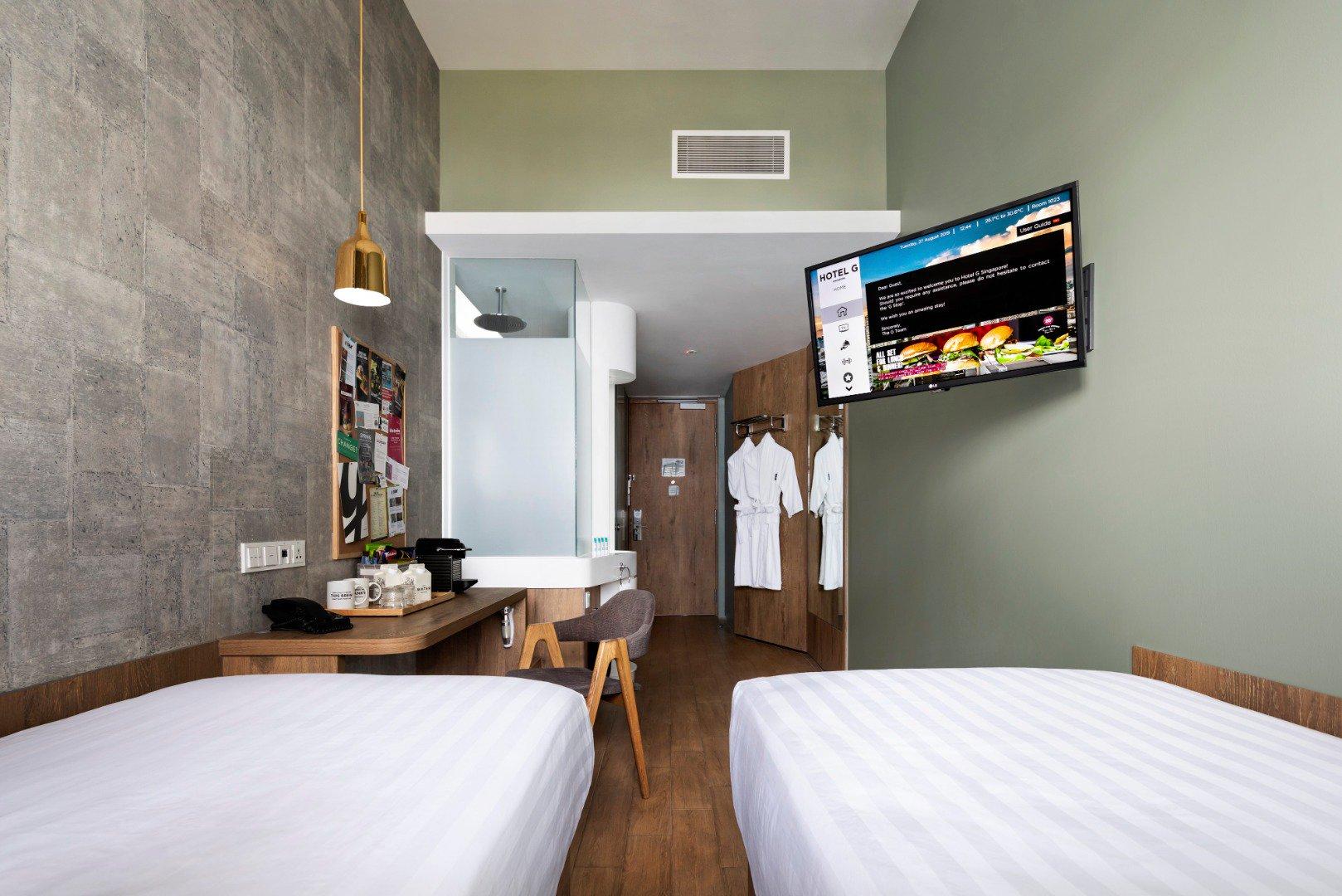 hotel G twin room