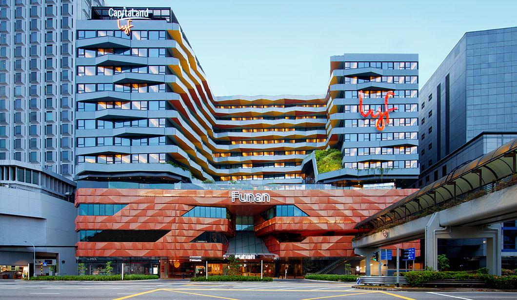 lyf Funan - staycation deals in singapore