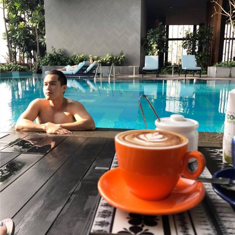 pool at oasia hotels