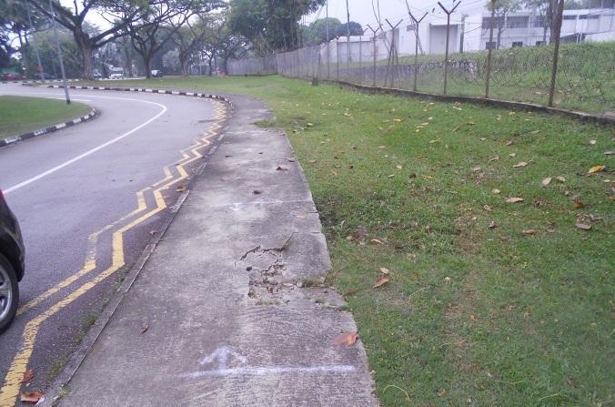footpath maintenance - town council services