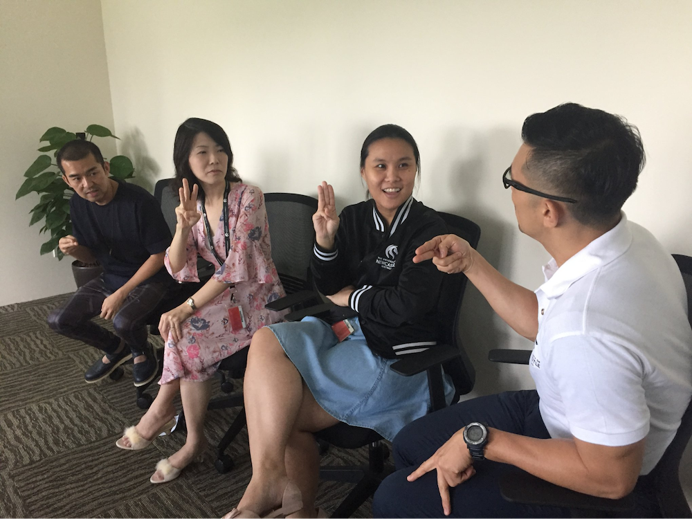The Singapore Association for the Deaf is an ideal place to volunteer at if you have a vision of inclusivity