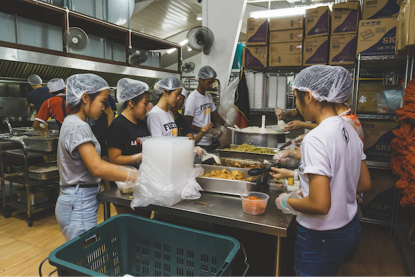 Willing Hearts is a 100% volunteer run soup kitchen in Singapore