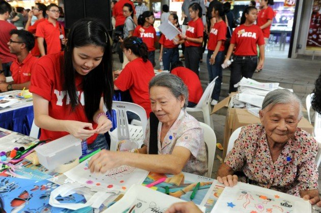 YMCA is a volunteer organisation in Singapore that offers a wide range of opportunities.