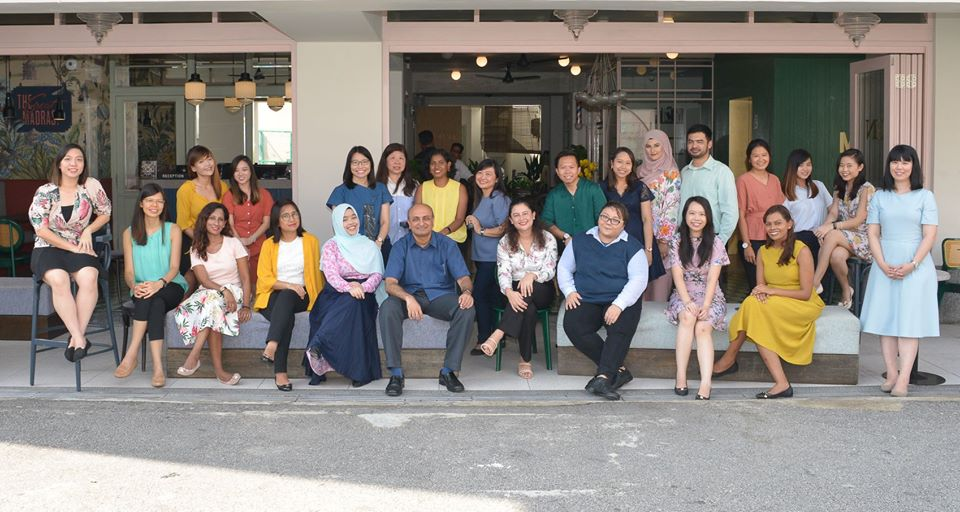 The staff of Singapore After-Care Association, a volunteer group that supports ex-offenders in Singapore