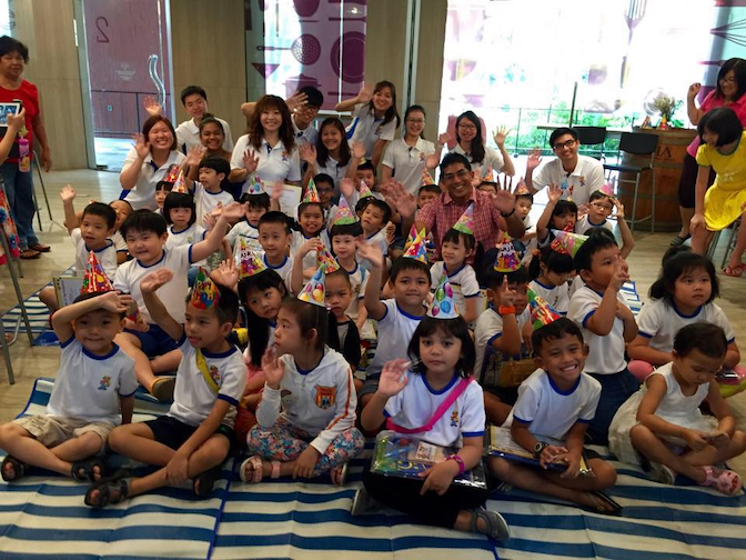 Volunteers at kidsREAD will be able to spread the love of reading to children in Singapore
