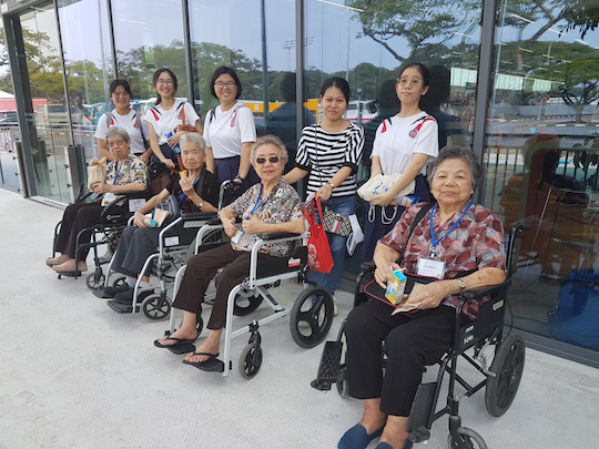 St Hilda's Community Services is a volunteer organisation that focusses on the elderly in Singapore
