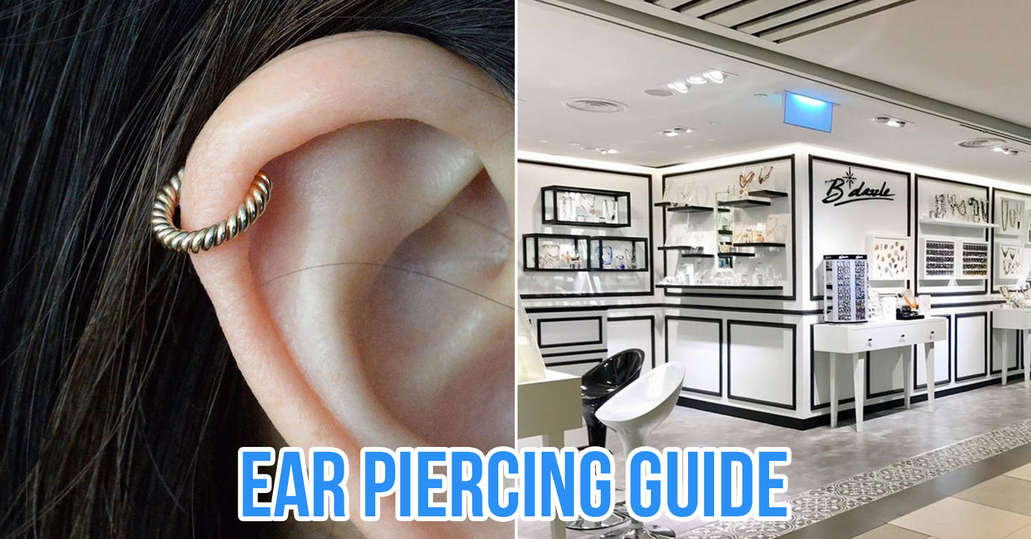 Guide To Ear Piercings Types Aftercare Where To Get It Done In