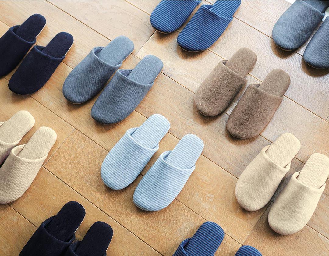 Muji items: slippers