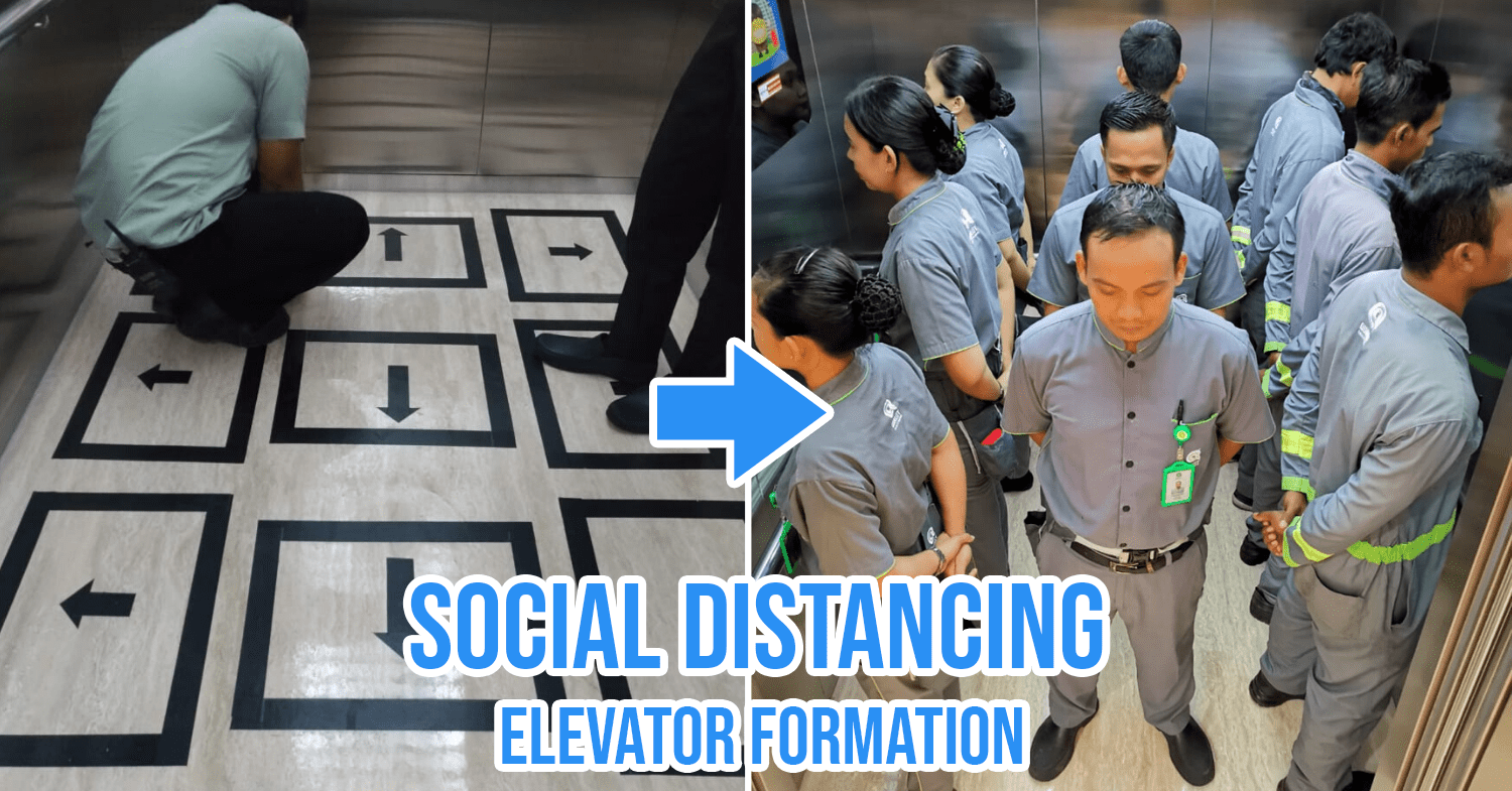 Social Distancing Singapore Cover