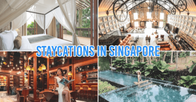 Singapore staycations