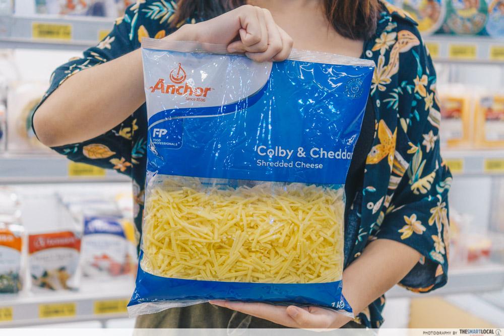 Anchor Colby & Cheddar Shredded Cheese