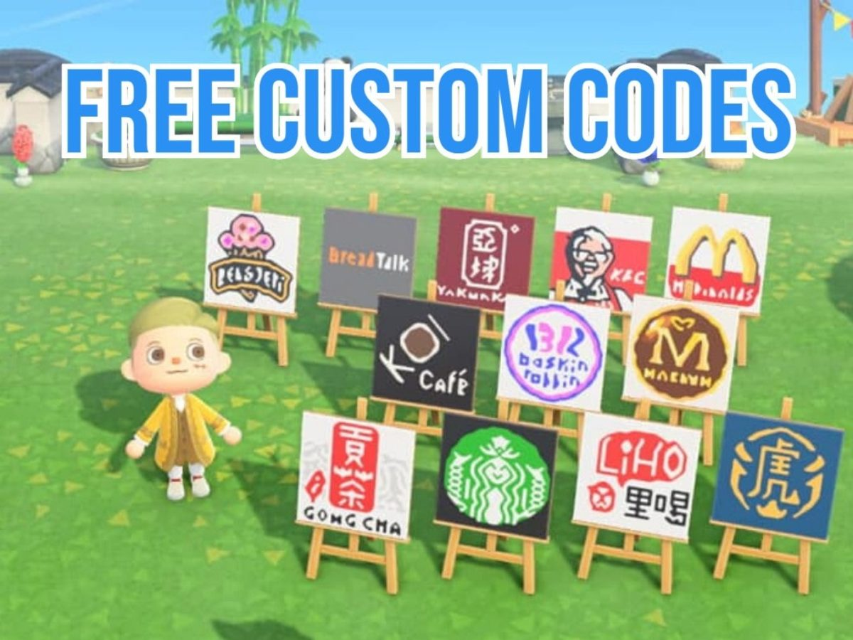 Animal Crossing Posters Of Fast Food Chains Are Now Shared For Free