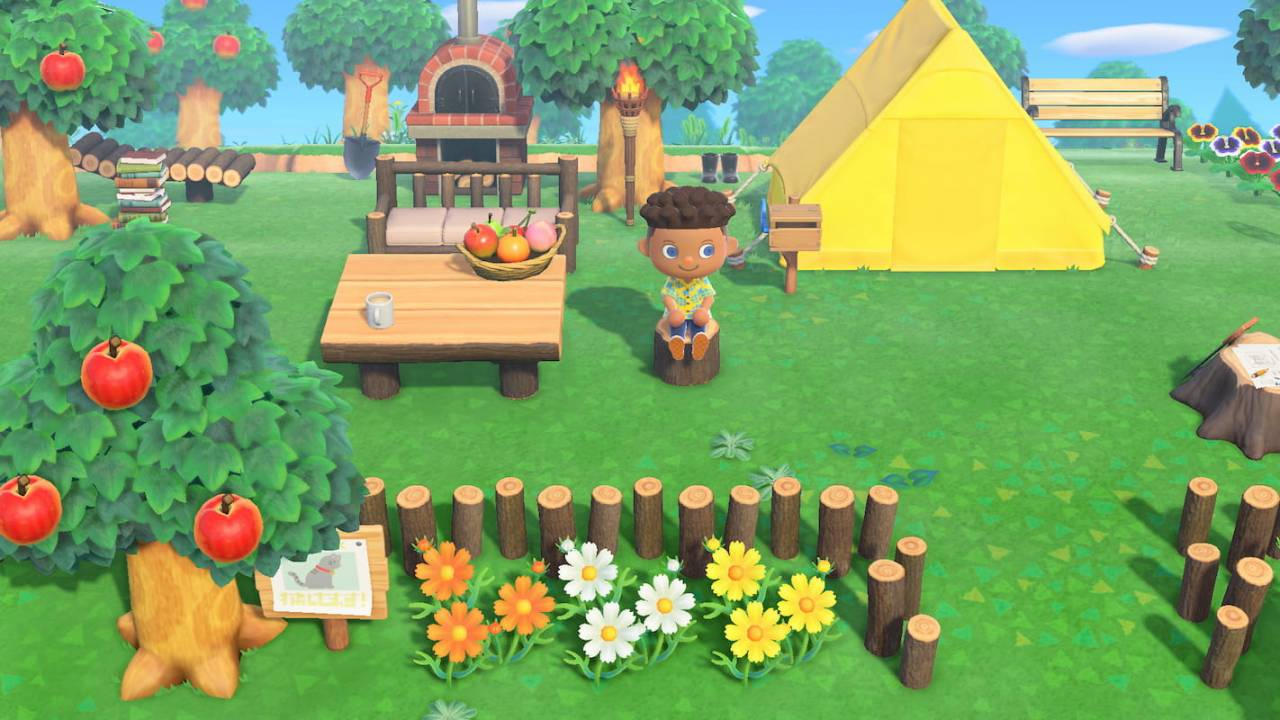 Animal Crossing Garden