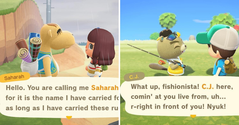 Saharah and CJ