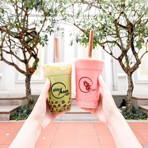 Playmade bubble tea delivery