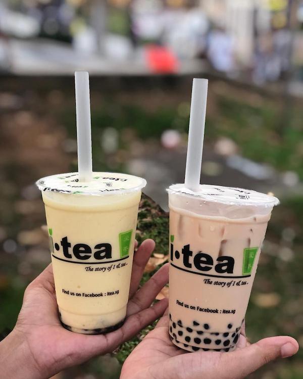 iTea bubble tea delivery