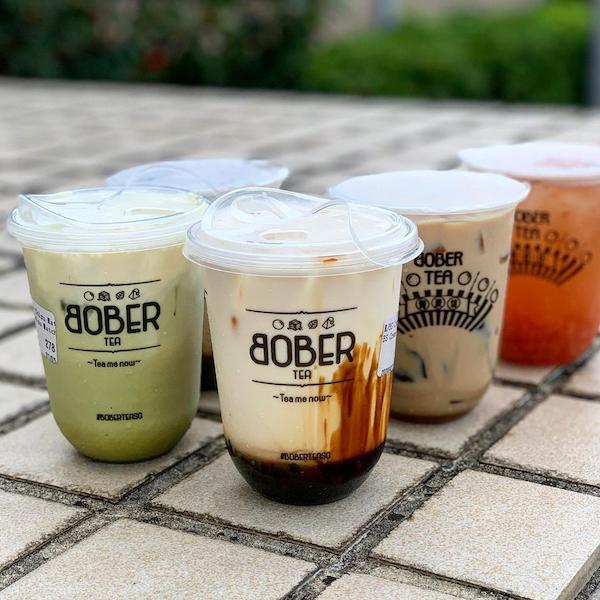 Bober - bubble tea delivery