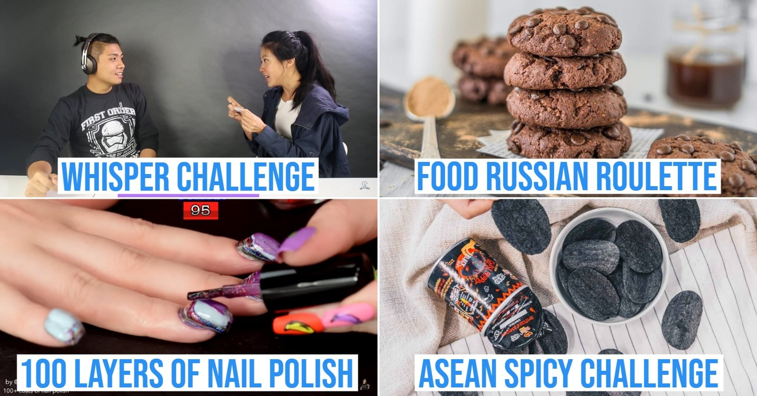 Challenges to try at home