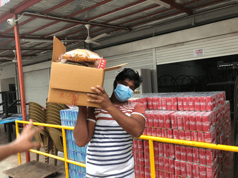 Project Belanja donate meals