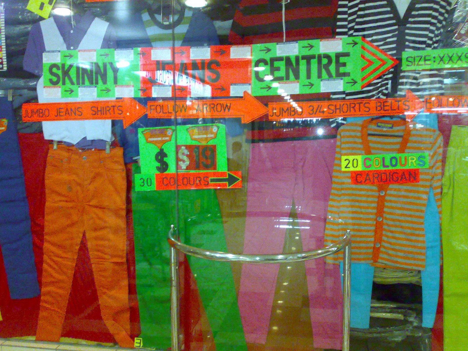 Peninsula Plaza skinny jeans