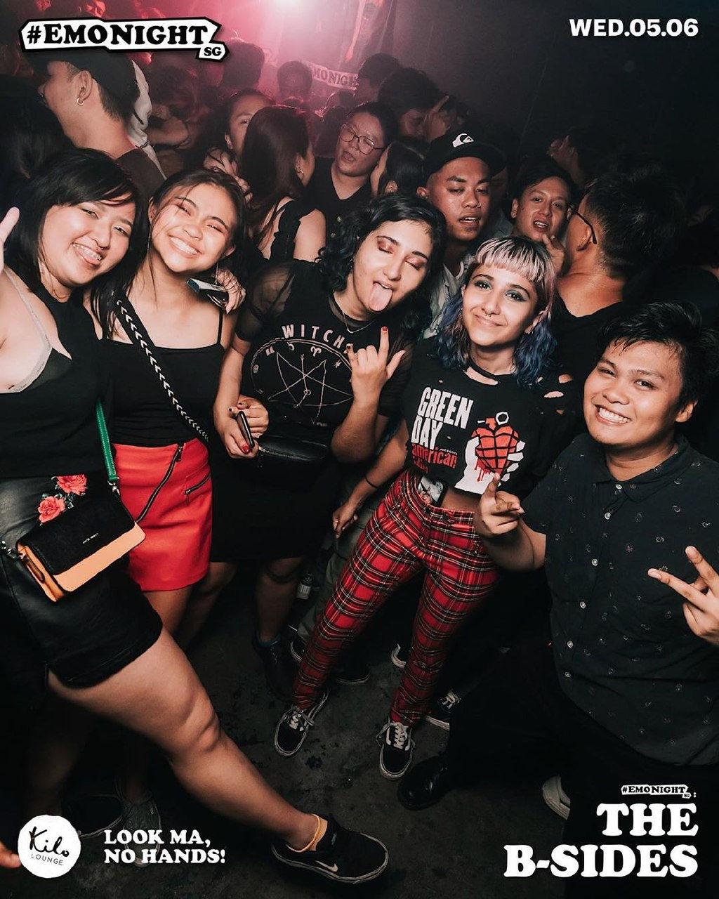 Emo night Singapore