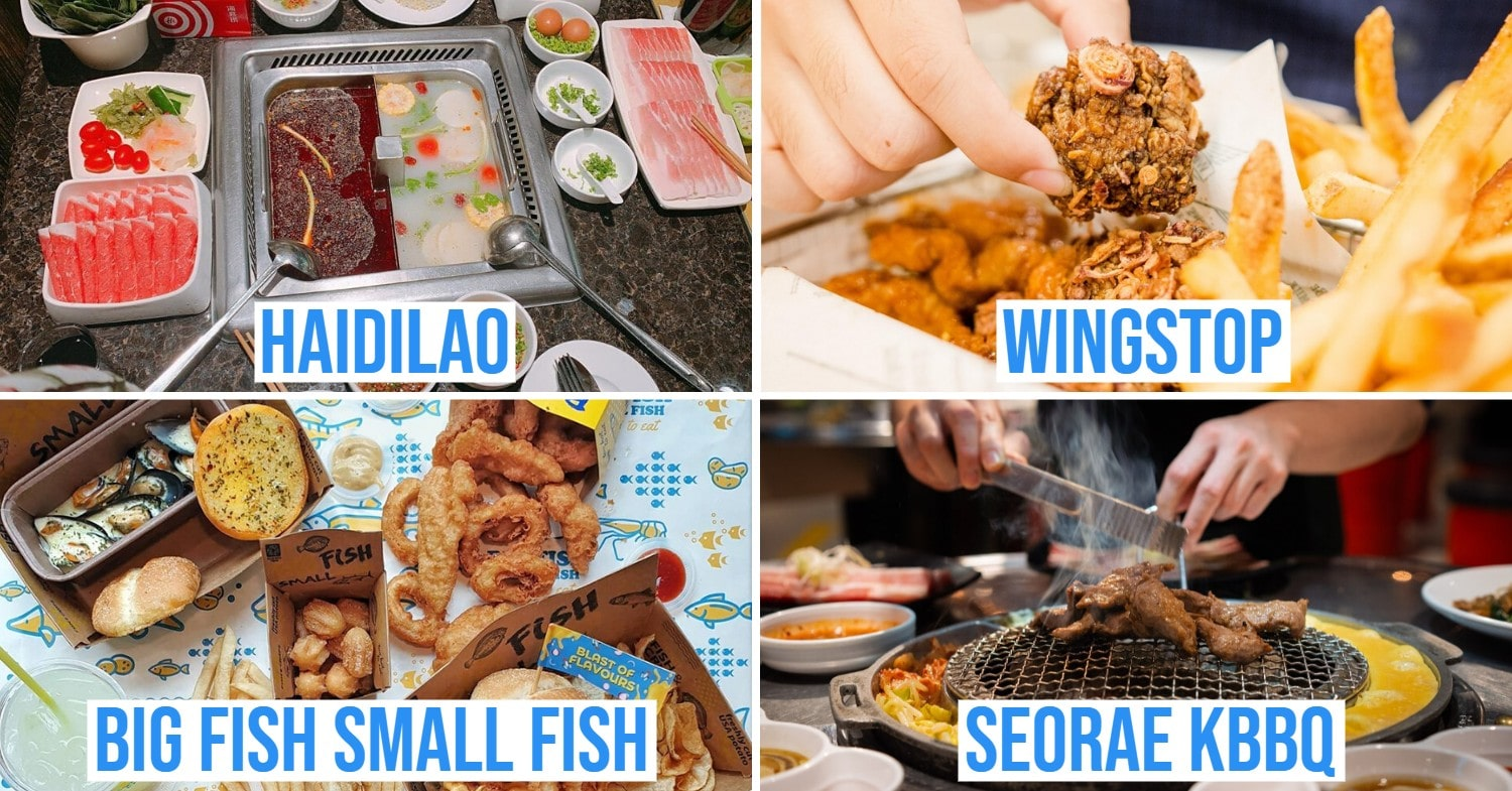 F&B Outlets with Takeaway promos