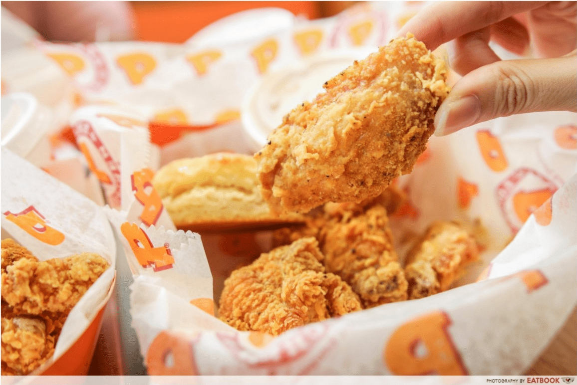 Food Delivery Promo Popeyes