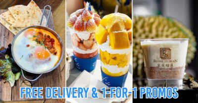 Food delivery in Singapore - cafes