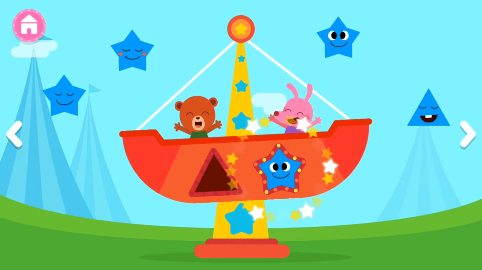 Pinkfong Shapes Colours Free Educational Apps Kids