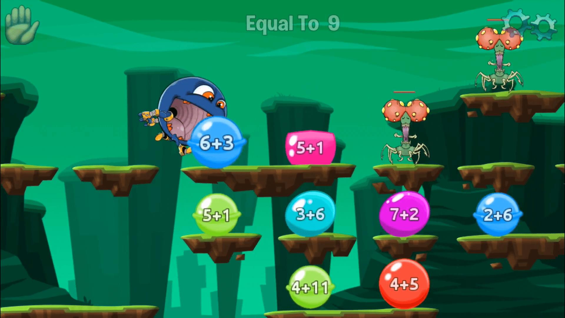 Monster Maths Free Educational Apps Kids