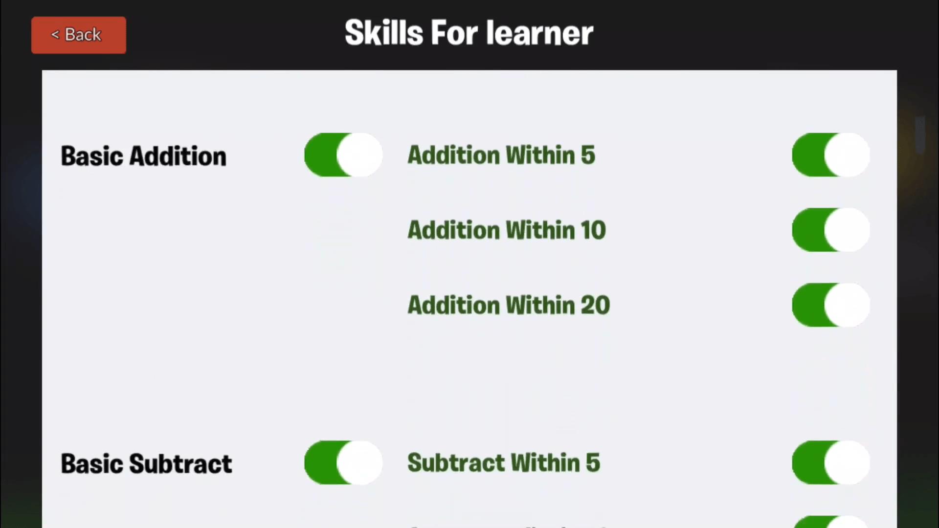 Free Educational Apps Kids Monster Maths