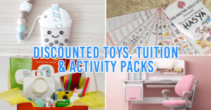 Kids Home Activities Singapore Local Businesses