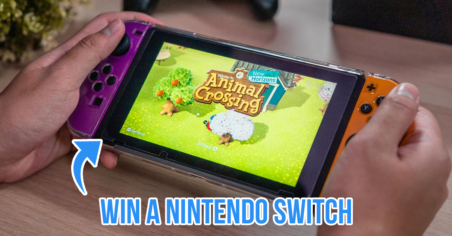 Policypal Nintendo Switch giveaway