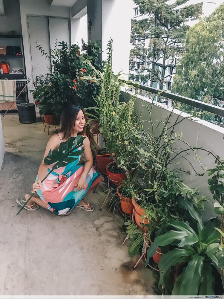 plants OOTDs