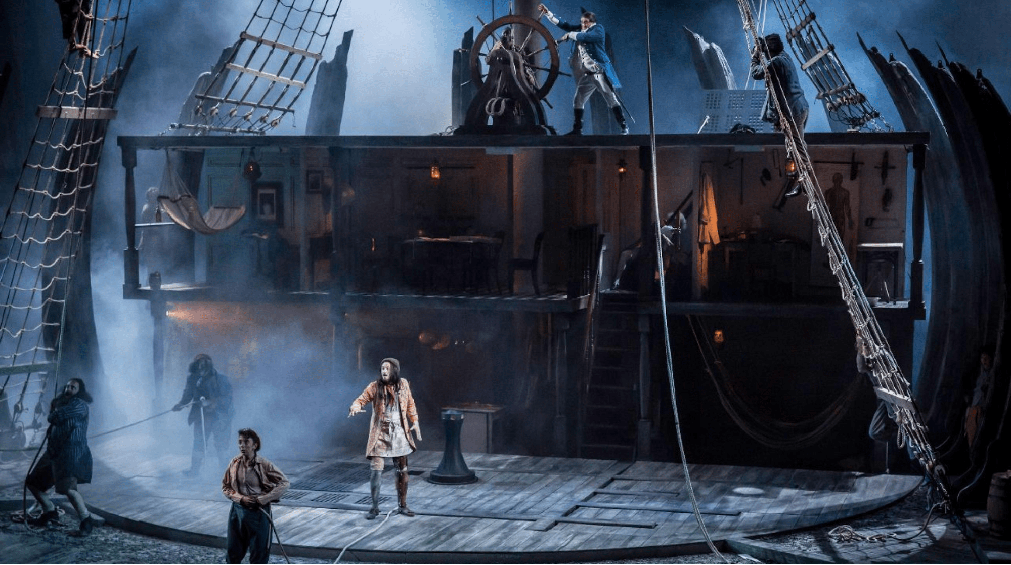 online theatre plays: Treasure Island