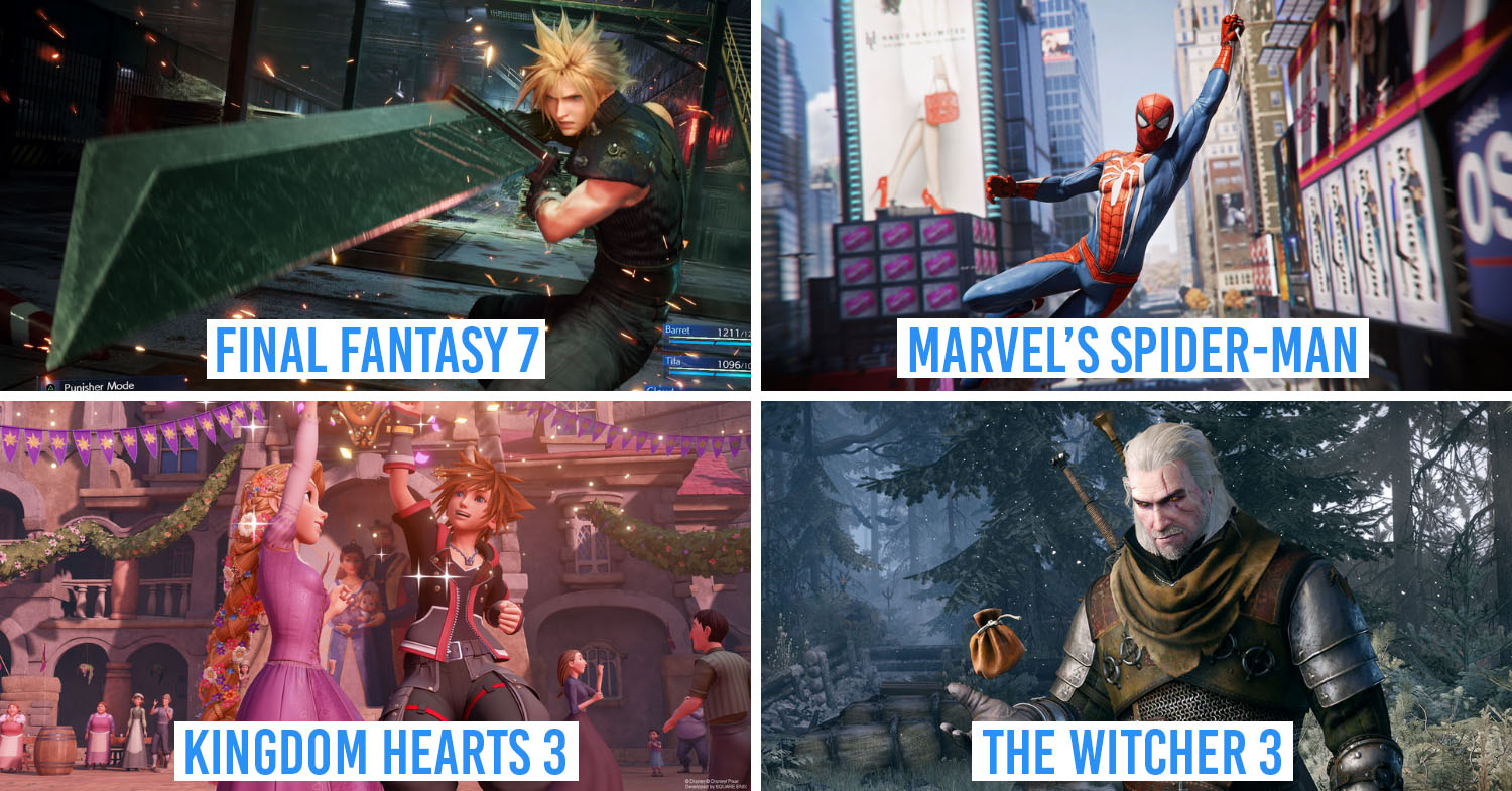 Best PS4 Games in Singapore
