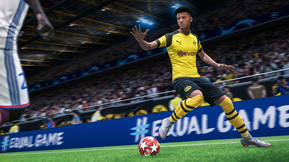 FIFA 20 PS4 exclusive game