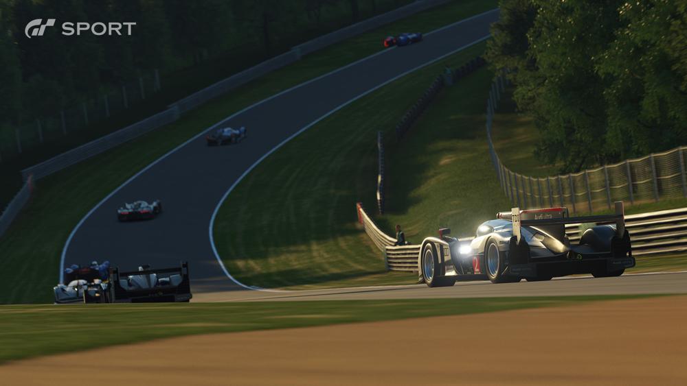 Gran Turismo Sport on the PS4