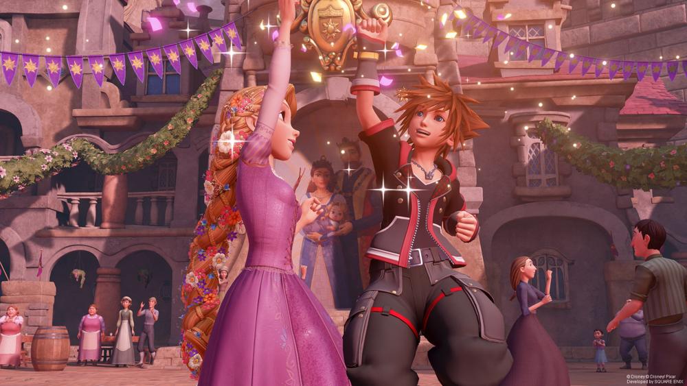 Kingdom Hearts 3 rapunzel