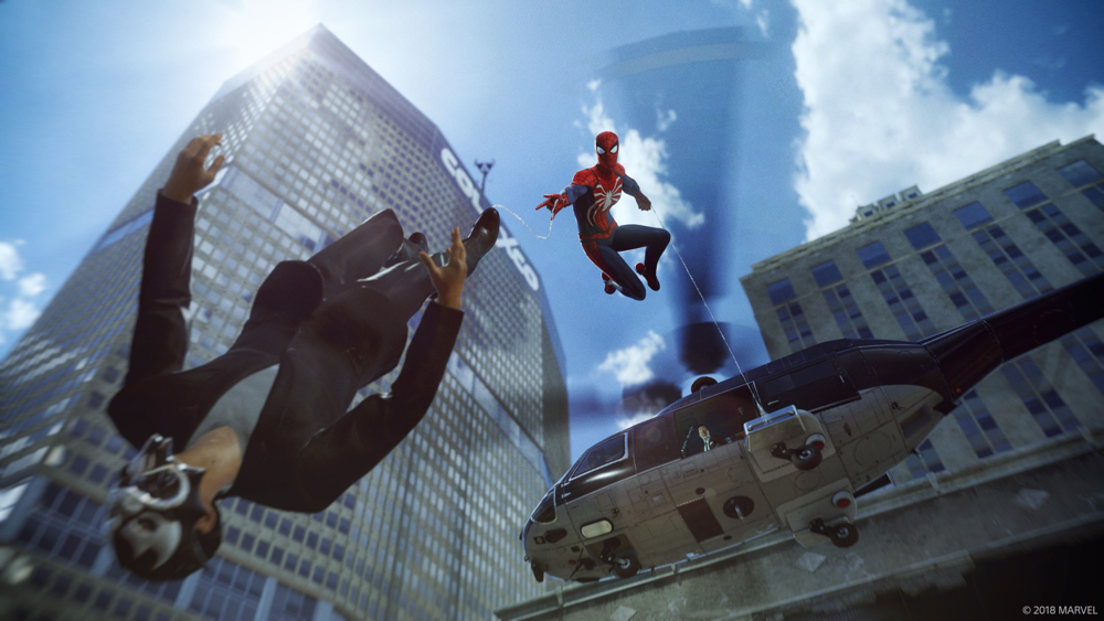 Marvel's Spider-Man on the PS4