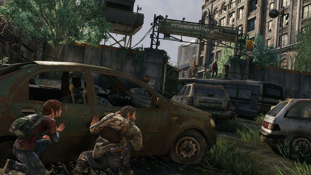 The Last of Us on the PS4
