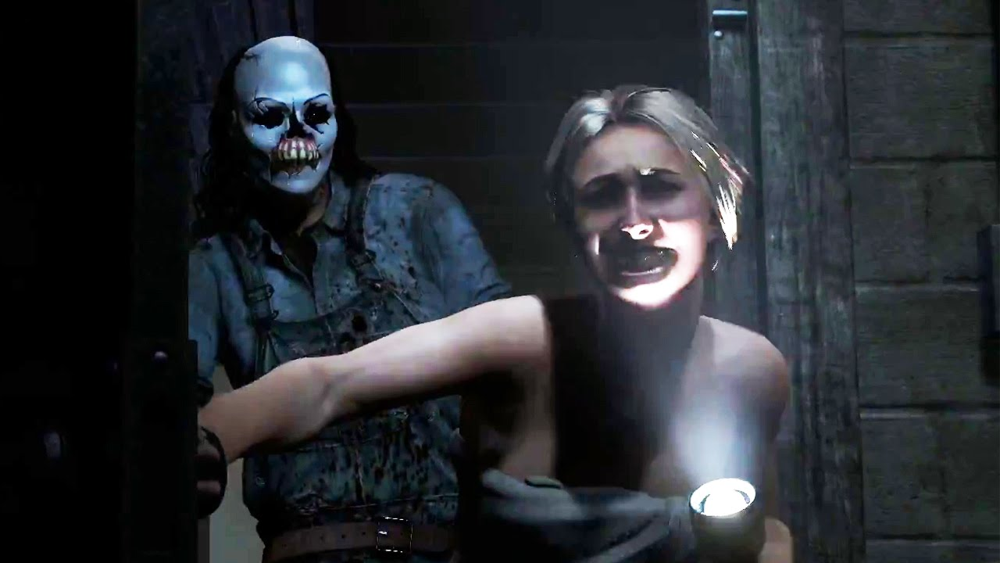 Until Dawn on the PS4