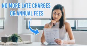Waive credit card fees