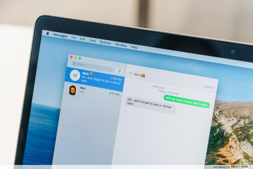 apple macbook hacks text