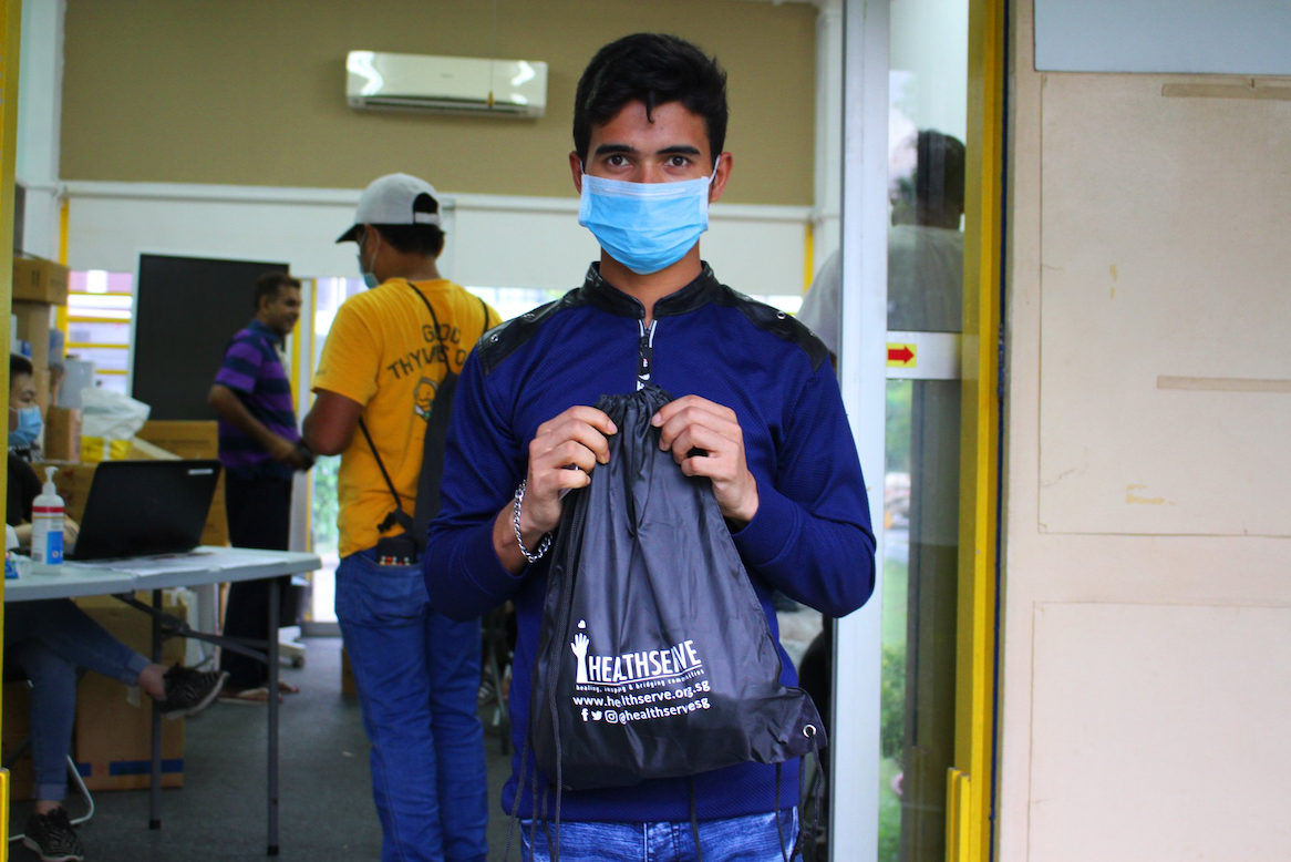 Those with extra masks and hand sanitisers should give back to society by donating supplies to those who need it more.
