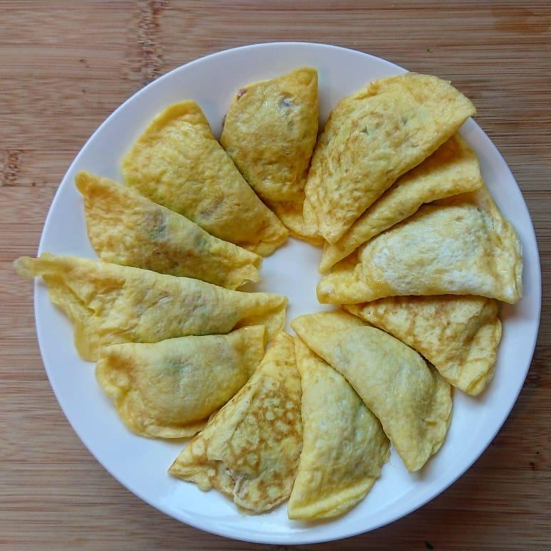 egg dumplings - egg recipes