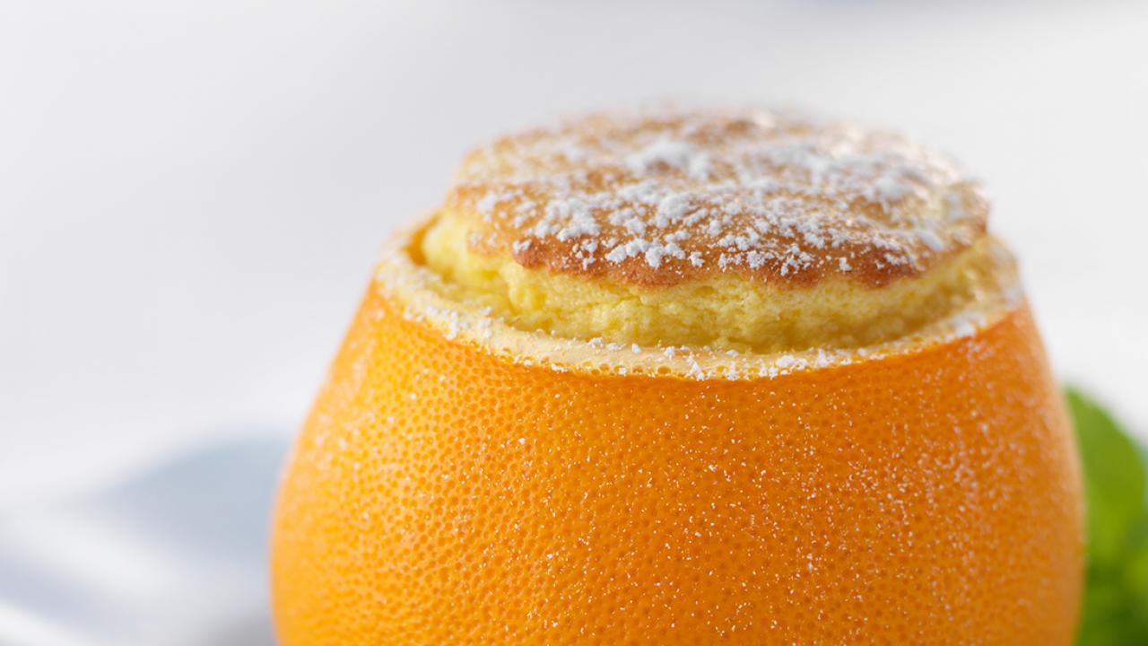 egg in orange - egg recipes