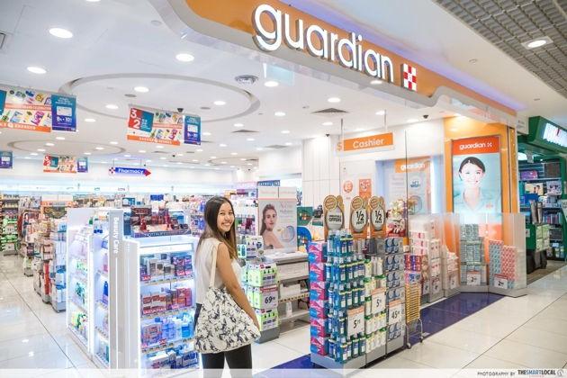 guardian singapore circuit breaker essential services